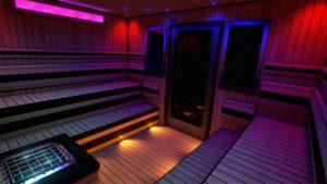 sauna do chromoterapii