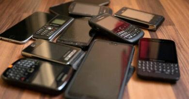 czujniki w telefonie