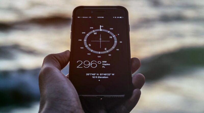kompas w telefonie