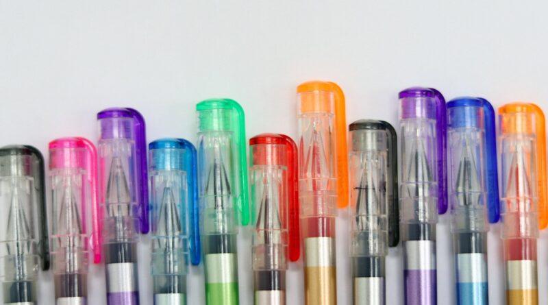składanie długopisów