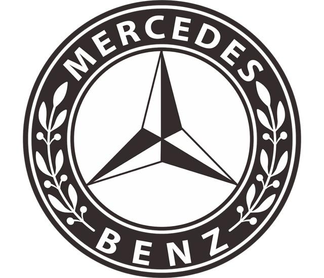 Mercedes pierwsze logo