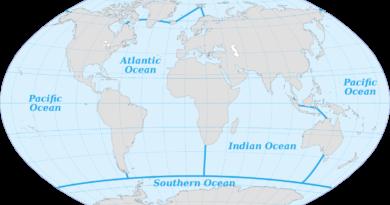 ile jest oceanów na ziemi