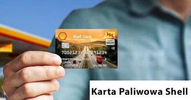karta paliwowa shell