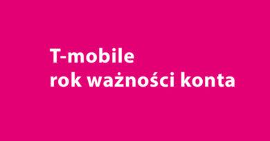 rok ważności konta T-mobile