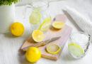 jak długo można pić wodę z cytryną